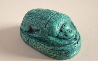 Жук скарабей — значение амулета из древнего египта