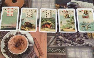 Соответствие колоды ленорман и игральных карт