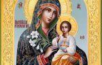 Православная молитва пресвятой богородице «неувядаемый цвет» о замужестве