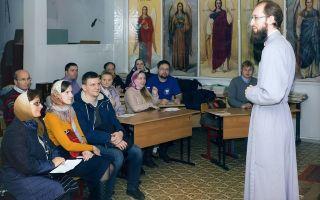 Огласительные беседы перед крещением для крестных