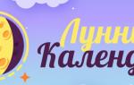 Лунный календарь для города сергиев посад на 2019 год