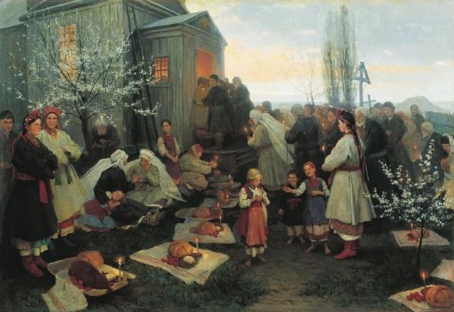 Пасха: как празднуют в России