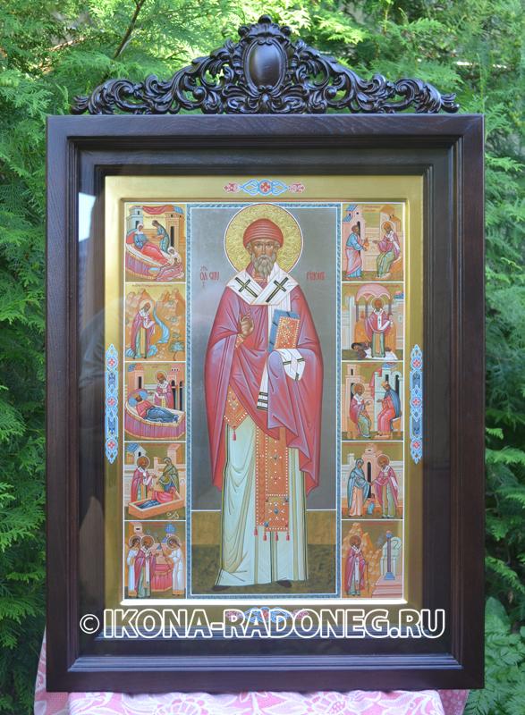 Святой Спиридон Тримифунтский: в чем помогает, описание иконы