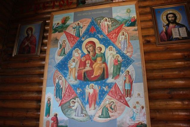 Неопалимая купина икона божией матери: значение в чем она помогает
