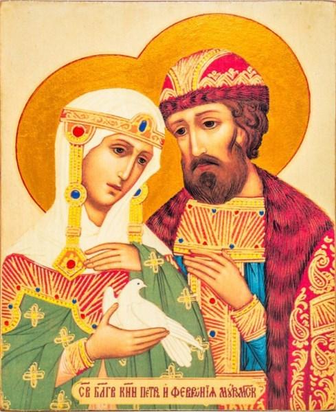 Икона Петра и Февронии: значение, в чем помогает
