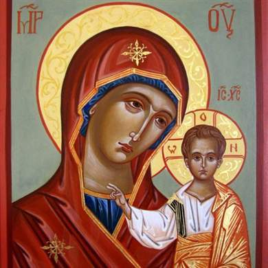 Какую икону дарят молодоженам на свадьбу родители