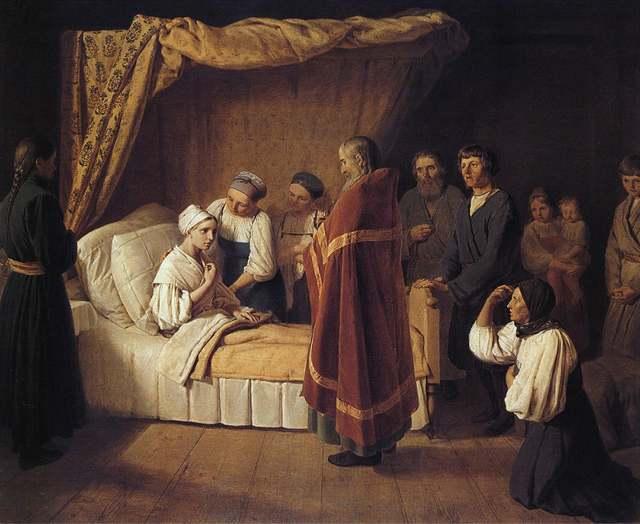 Соборование для тяжелобольных: на дому