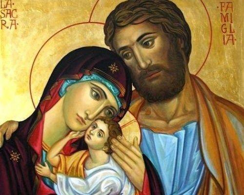 Икона «Святое семейство» значение: в чем помогает (фото)