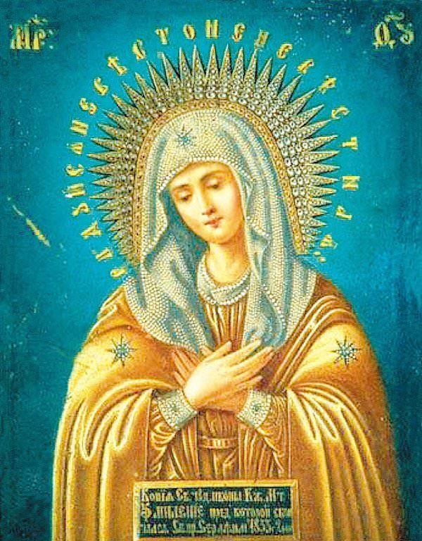 К чему снится икона Божьей Матери с младенцем на руках