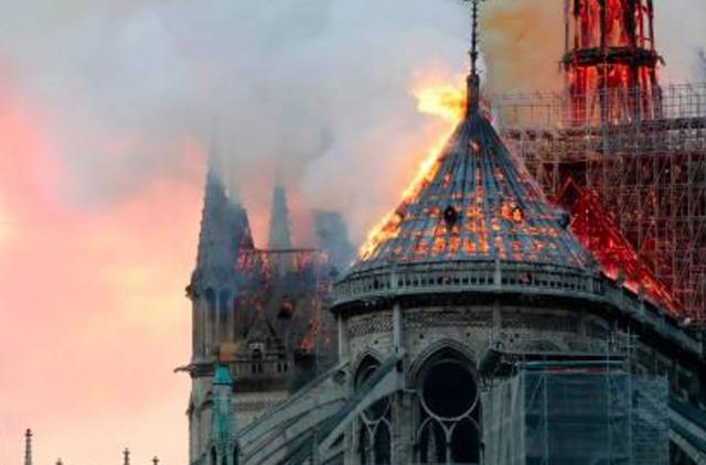 Пожар в Соборе Парижской Богоматери: знак, подробности