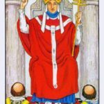 Старший аркан Таро Иерофант (5 аркан, Верховный Жрец, Папа): значение и сочетание с другими картами