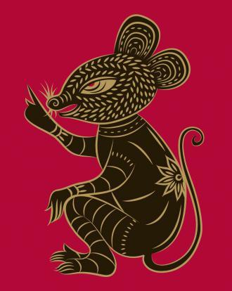 1984 год по восточному календарю: год Деревянной Крысы