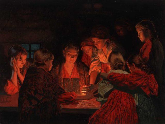 Гадания на Колядки: на суженого, любовь и будущий год