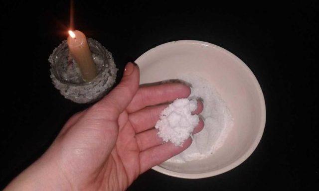 Защитный заговор от воров «На соль»