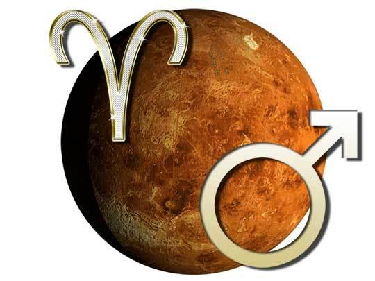 Марс - планета Овна