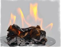 Гадание по тени от сгоревшей бумаги: как проводить и толковать